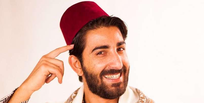 Porträtt av Al Hakawati Mustafa